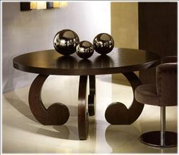 CONTEMPORARY NIGHT and DAY Tafel God mother round HT 2182
