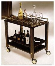 Luxury Group Serviertisch Club bar trolley Club bar trolley