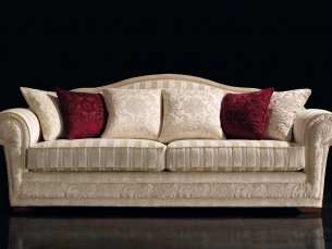 Pondicherry 4-sitziges Sofa beige