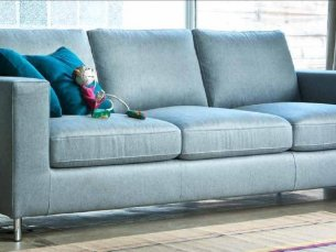 Dallas 3-sitziges Sofa blue