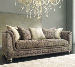Wellcome 4-sitziges Sofa silver