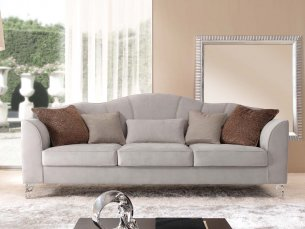 Pafos-F 4-sitziges Sofa white