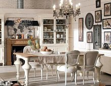 Dialma Brown Speisezimmer white